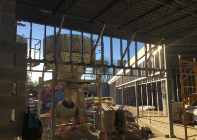 Metal Stud Framing PWC Animal Shelter
